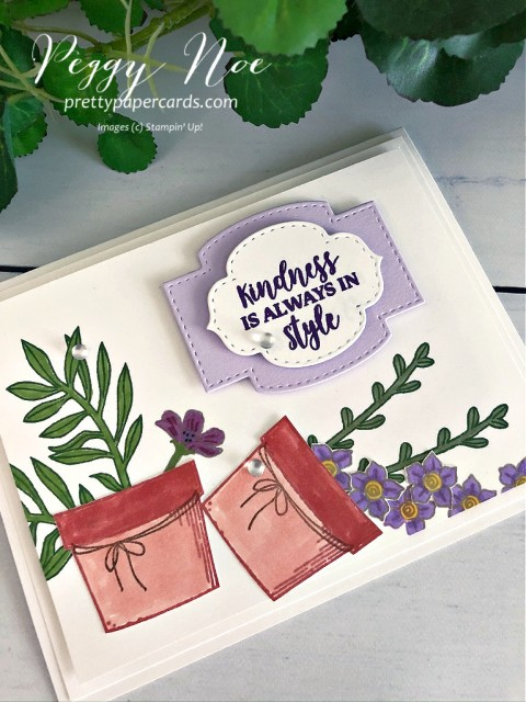 Basket of Blooms Stampin' Up! Pretty Paper Cards