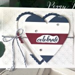 Celebrate Patriotic Card Pretty Paper Cards