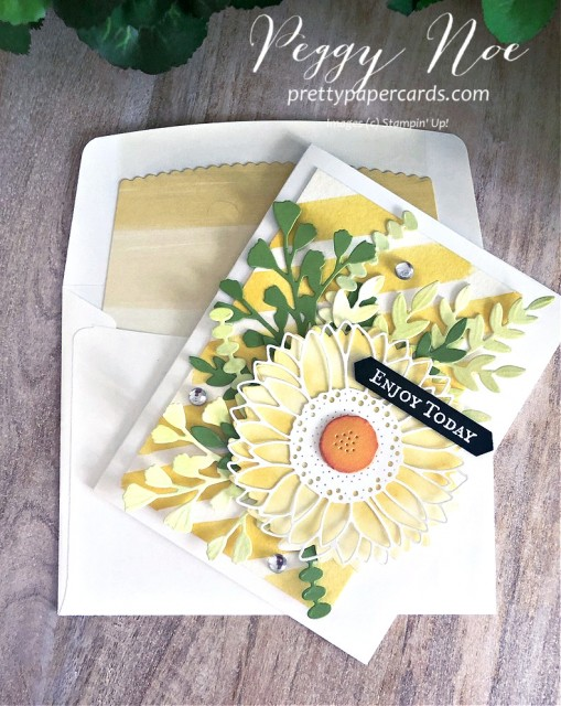 Celebrate Sunflowers Enjoy Today Stampin' Up! Pretty Paper Cards