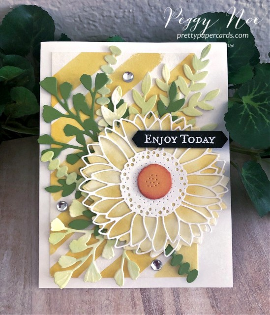 Celebrate Sunflowers Happy Stampin' Up! Peggy Noe