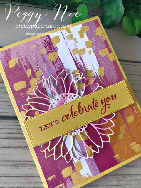 Celebrate Sunflowers Stampin' Up! Peggy Noe