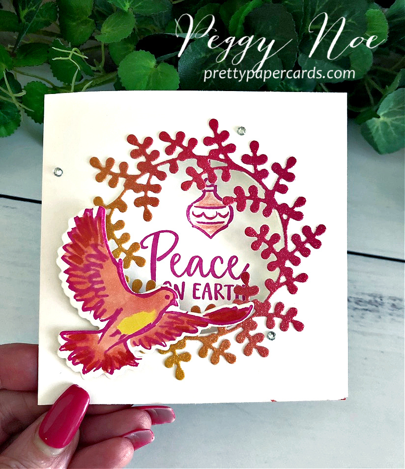new video dove of hope fancy fold card  pretty paper cards
