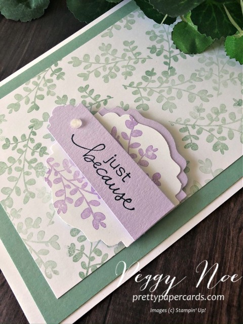 Lovely You Card Stampin' Up! Pretty Paper Cards
