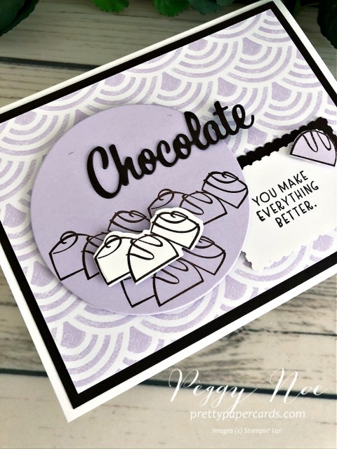 Nothing's Better Than Chocolate Card Peggy Noe