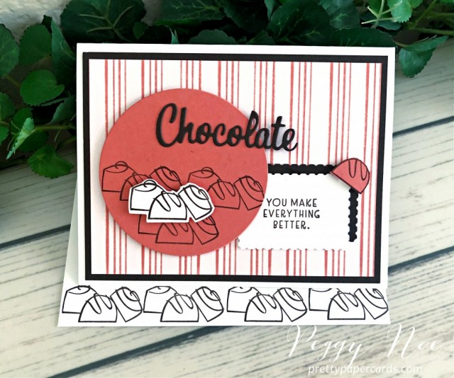 Nothing's Better Than Chocolate Stampin' Up! Peggy Noe