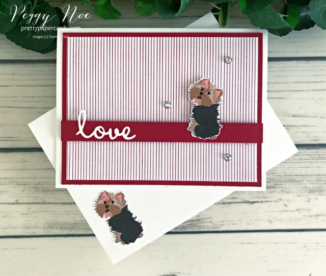 Playful Pets Stampin' Up! Peggy Noe