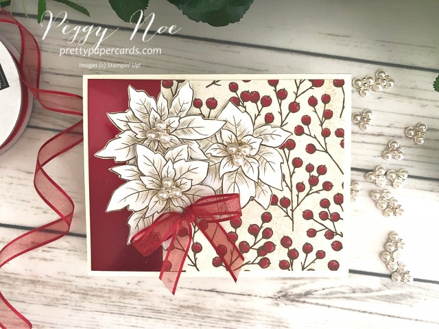 Poinsettia Petals Bundle Stampin' Up! Peggy Noe