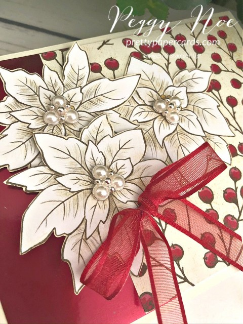 Poinsettia Place Suite Stampin' Up! Pretty Paper Cards