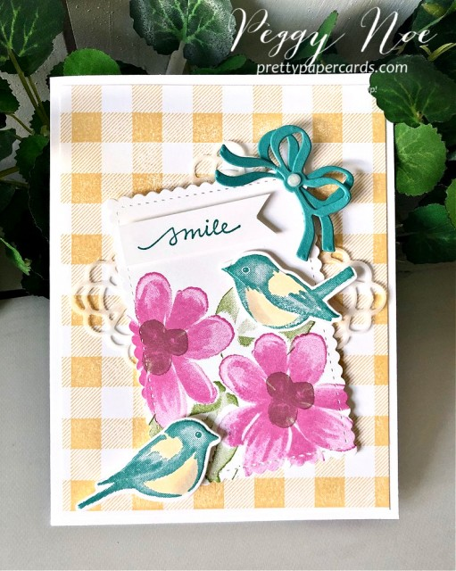 Stampin' Up! Gorgeous Posies Card Pretty Paper Cards