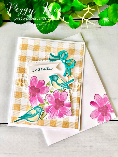 Stampin' Up! Gorgeous Posies Peggy Noe