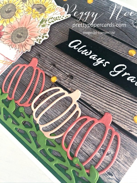 Autumn Card Stampin' Up! Peggy Noe