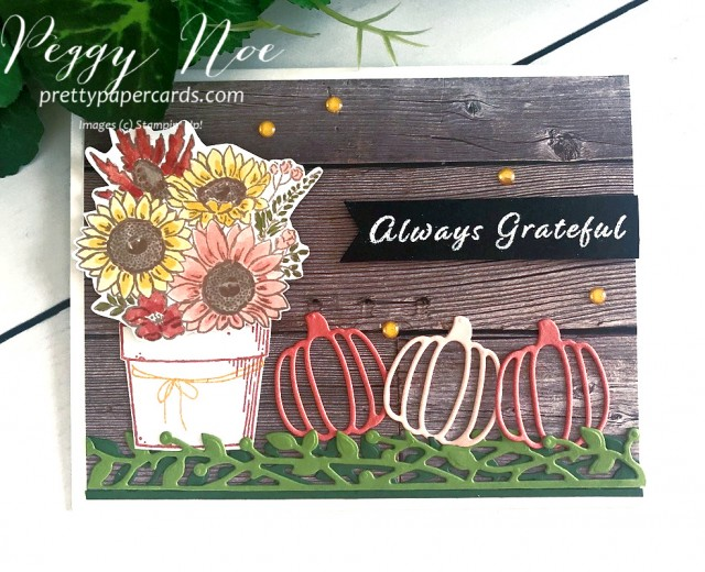 Autumn Card Stampin' Up! Pretty Paper Cards