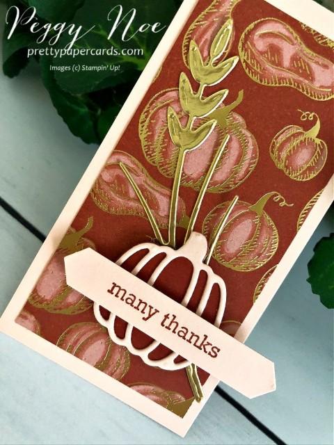 Autumn Essentials Stampin' Up! Pretty Paper Cards