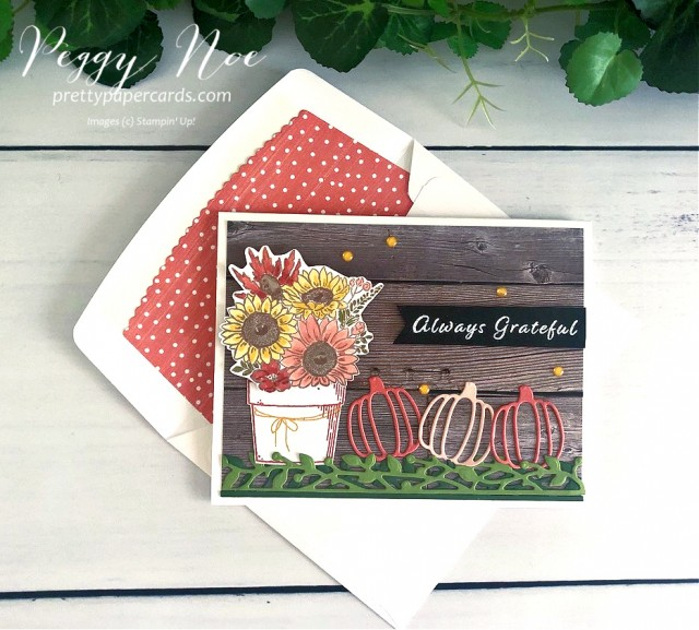 Autumn Greetings Cards Stampin' Up! Peggy Noe