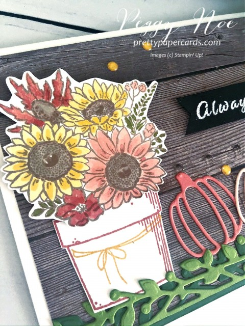 Autumn Greetings Stampin' Up! Peggy Noe