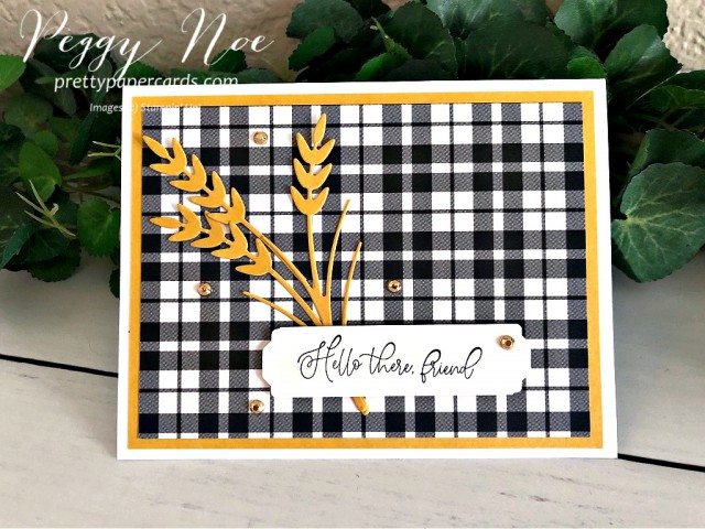 Autumn Greetings Stampin' Up! Pretty Paper Cards