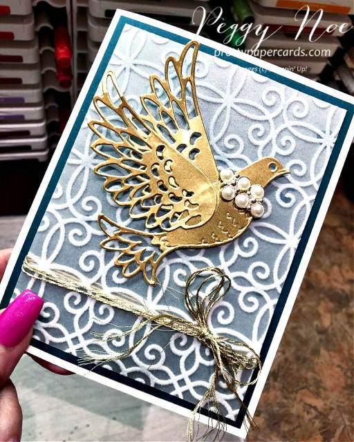 Dove of Hope Stampin' Up! Peggy Noe