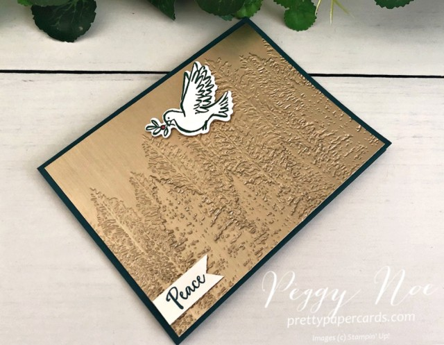 Evergreen Forest Dove Stampin' Up! Pretty Paper Cards