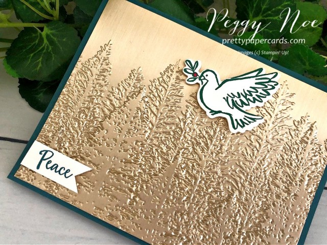 Evergreen Forest Peace Stampin' Up! Pretty Paper Cards