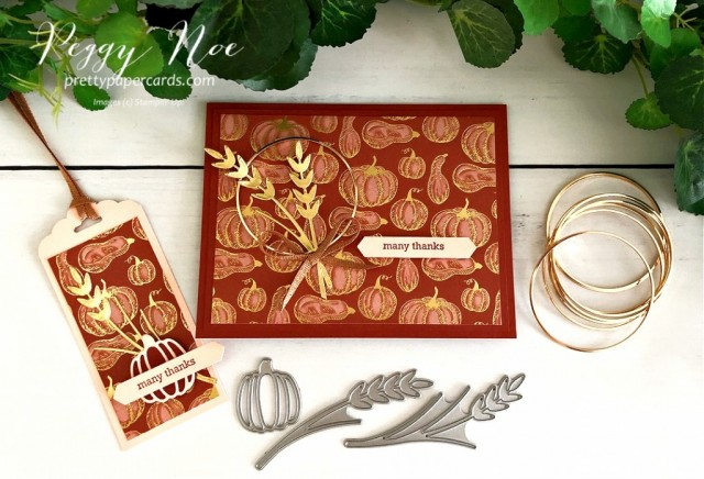 Gilded Autumn Essentials Stampin' Up! Pretty Paper Cards