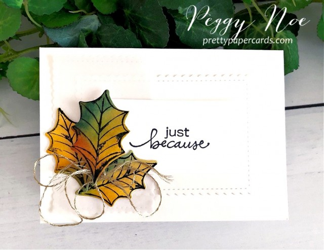 Poinsettia Petals Fall Stampin' Up! Pretty Paper Cards