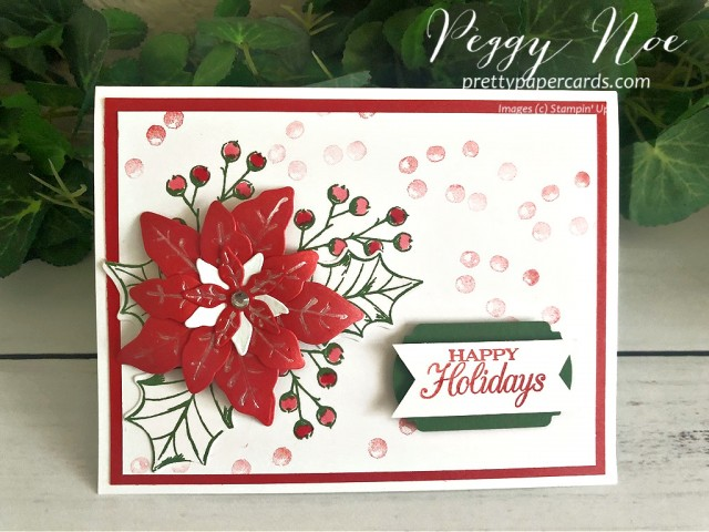 Poinsettia Petals Stampin' Up! Pretty Paper Cards