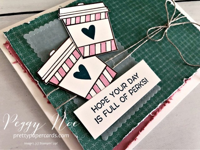 Press On Stampin' Up! Peggy Noe