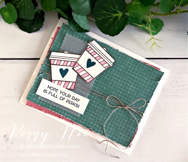 Press On Stampin' Up! Pretty Paper Cards