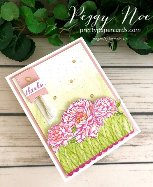 Prized Peony Bundle Stampin' Up! Pretty Paper Cards