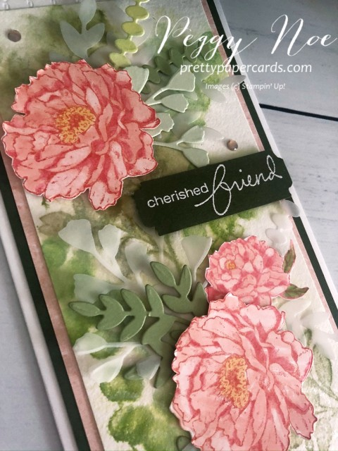 Prized Peony Friend Stampin' Up! Peggy Noe