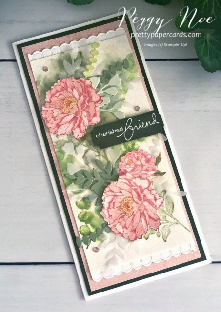 Prized Peony Stampin' Up! Peggy Noe