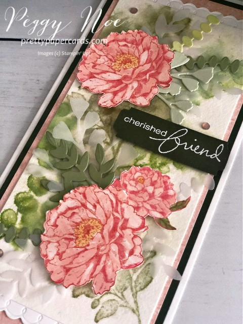 Prized Peony Stampin' Up! Pretty Paper Cards