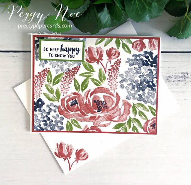 #stampinup #stampingup #peggynoe #prettypapercards #beautifulfriendship
