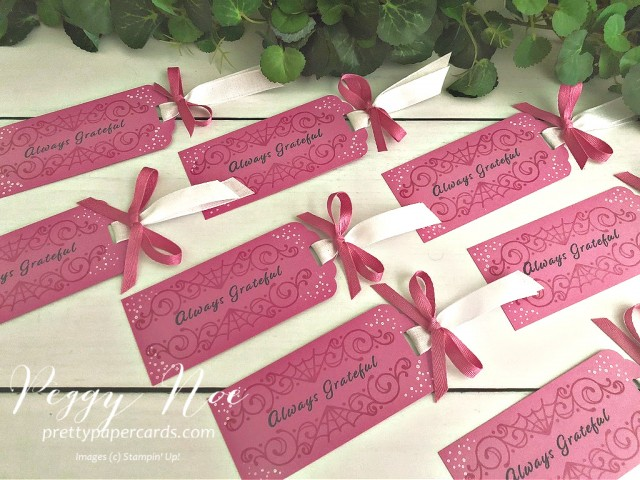 Celebration Tidings Stampin' Up! Pretty Paper Cards