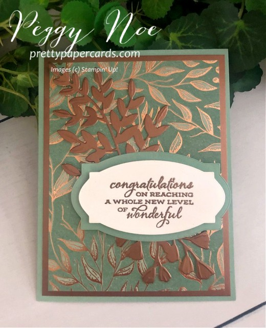 #congratulations #stampinup #stampingup #celebratesunflowers #peggynoe #prettypapercards