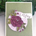 #somuchlove #stampinup #peggynoe #prettypapercards