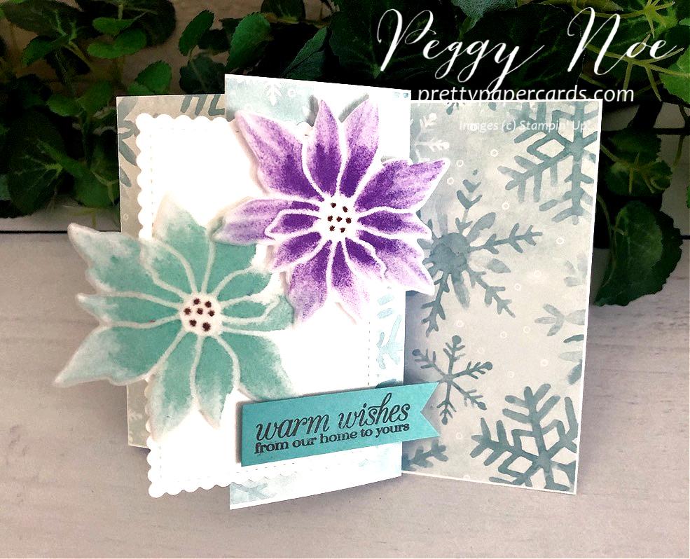 NEW VIDEO: Vellum Poinsettia Z-Fold Card!