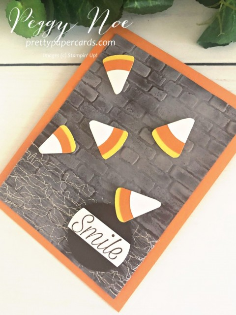 Candy Corn Card Stampin' Up! Peggy Noe