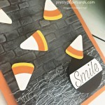 Candy Corn Card Stampin