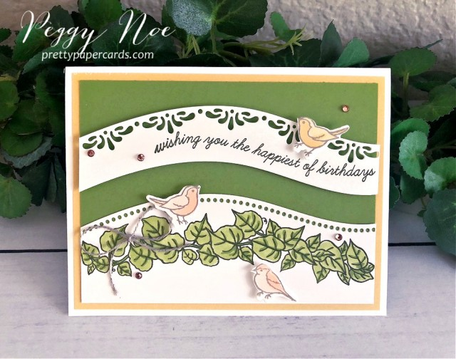 Curvy Celebrations Birthday Stampin' Up! Peggy Noe