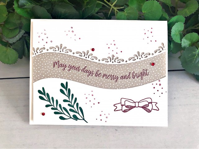 Curvy Celebrations Card Stampin' Up! Peggy Noe