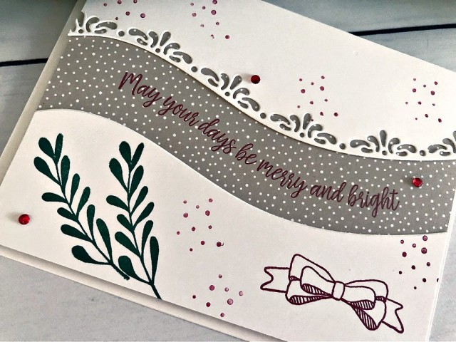 Curvy Celebrations Stampin' Up! Pretty Paper Cards