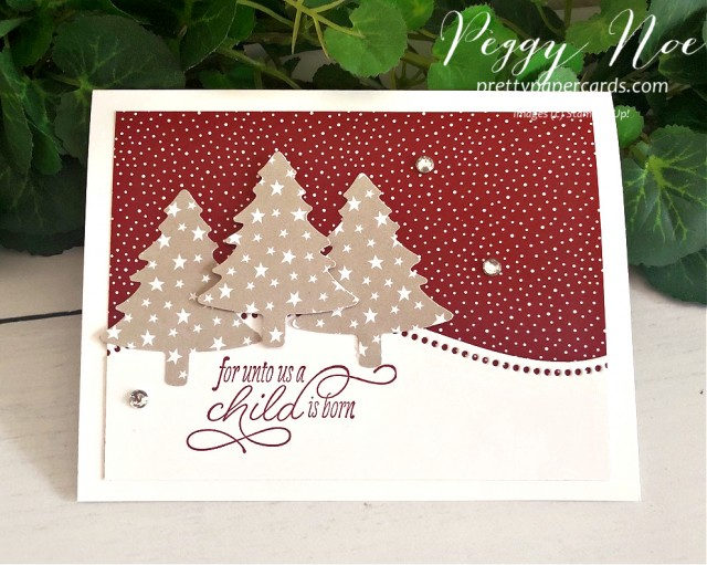 Curvy Christmas Stampin' Up! Peggy Noe
