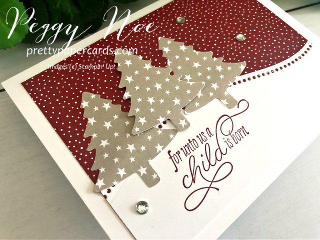 Curvy Christmas Stampin' Up! Pretty Paper Cards