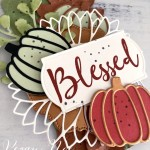 Fall Tag made with Wild Rose Stamp Set, Autumn Essentials Dies and Sunflower Dies by Stampin