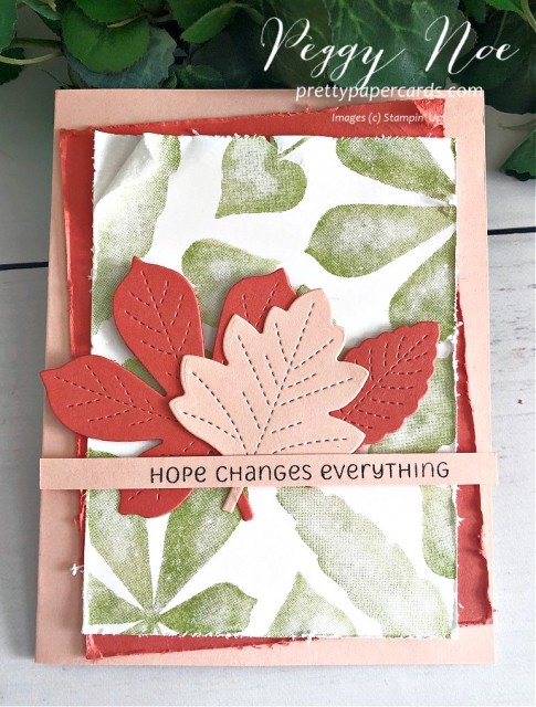Love of Leaves Stampin' Up! Peggy Noe
