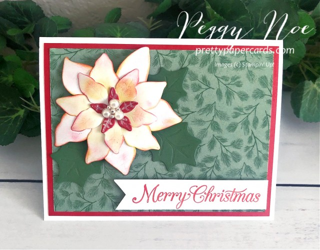 Poppy Poinsettia Petals Stampin' Up! Peggy Noe