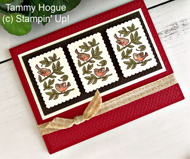 Posted for You Card Stampin' Up! Peggy Noe