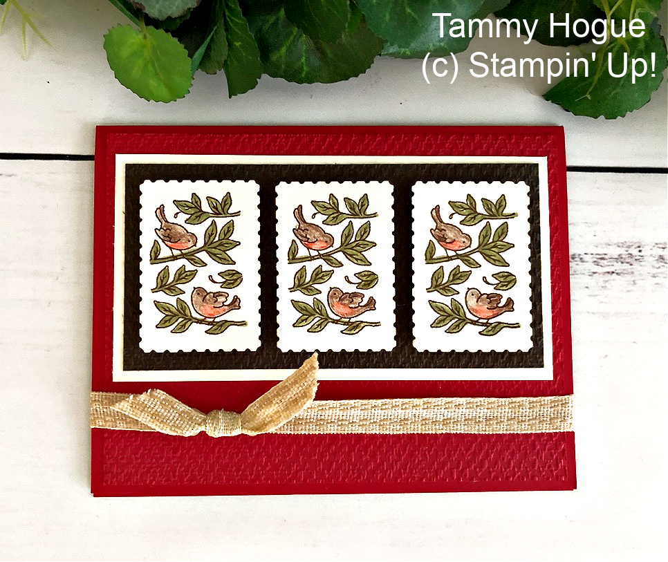Guest Stamper: Beautiful Posted for You Card!