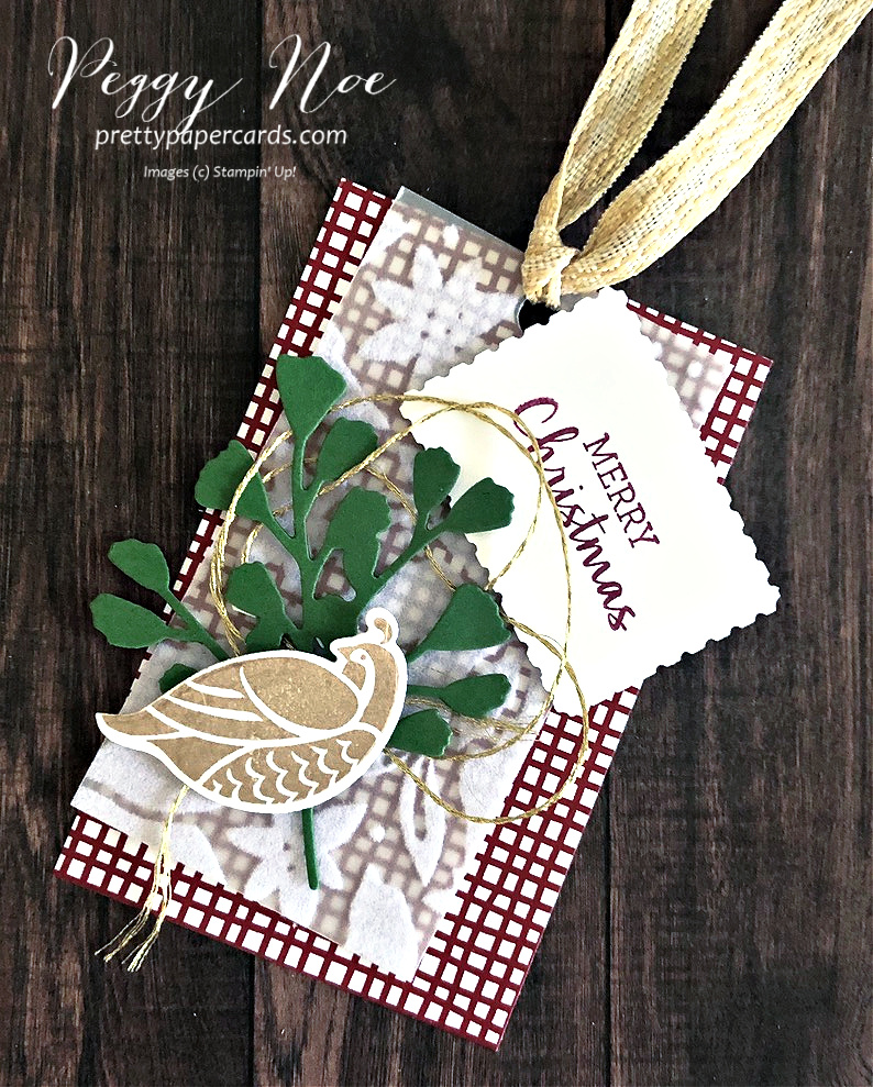 Christmas Partridge Tag, Card & Gift Box!
